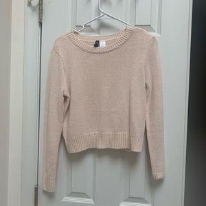 Divided H&M Cream Sweater XS